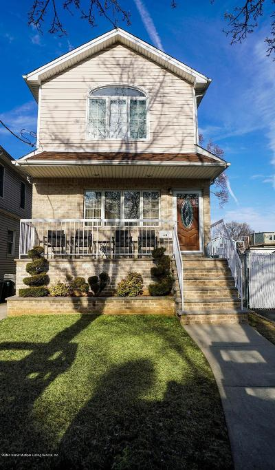 Staten Island Single Family Home For Sale: 43 Glover Street