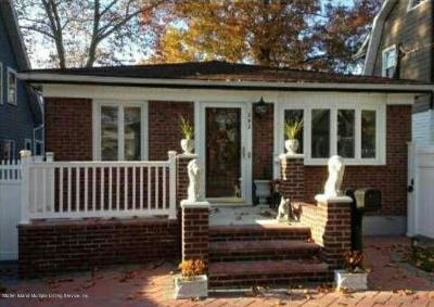 Staten Island Single Family Home For Sale: 292 Rose Avenue