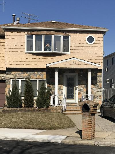 Staten Island Semi-Attached For Sale: 125 Rye Avenue