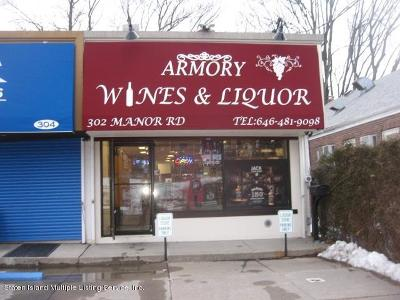 Staten Island Commercial For Sale: 302 Manor Road