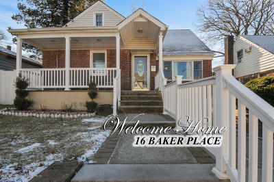 Staten Island Single Family Home For Sale: 16 Baker Place