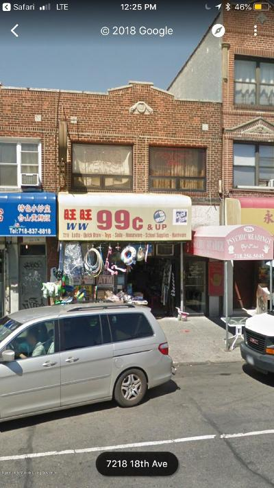 Brooklyn Commercial For Sale: 7216 18 Avenue