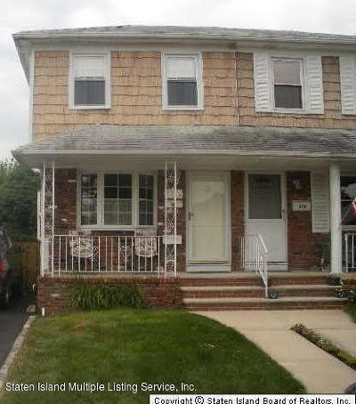 Staten Island Semi-Attached Acceptance: 476 Barlow Avenue