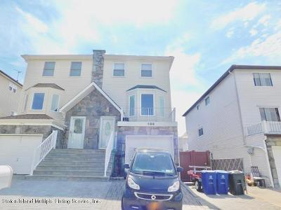 Staten Island Semi-Attached For Sale: 186 Braisted Avenue