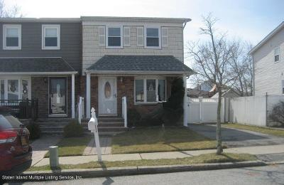 Staten Island Semi-Attached For Sale: 18 Watkins Avenue
