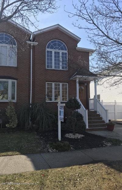 Staten Island Semi-Attached For Sale: 272 Malvine Avenue