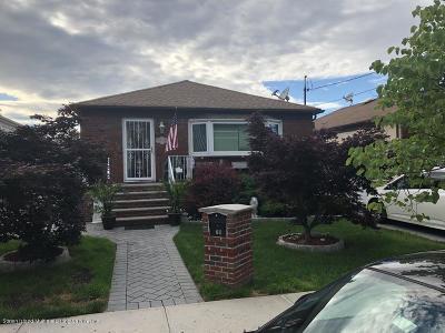 Staten Island Single Family Home For Sale: 79 Stafford Avenue
