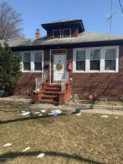 Staten Island Single Family Home For Sale: 55 Jefferson Boulevard