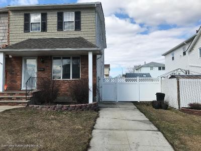 Staten Island Semi-Attached For Sale: 67 Ladd Avenue