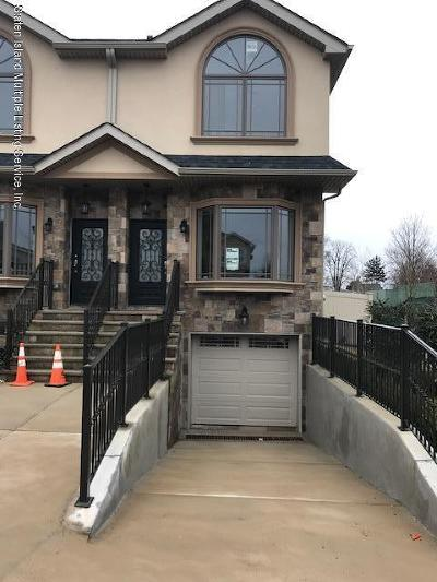 Staten Island Semi-Attached For Sale: 58 Conard Avenue