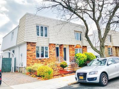 Staten Island Semi-Attached For Sale: 58 Thornycroft Avenue