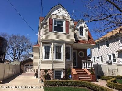 Staten Island Single Family Home For Sale: 127 10th Street