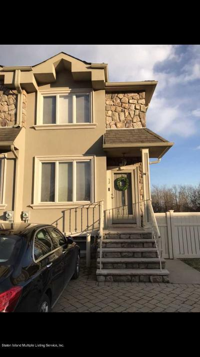 Staten Island Semi-Attached For Sale: 52 Calvanico Lane
