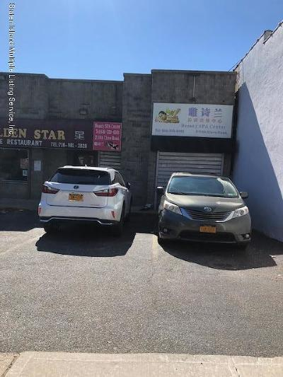 Staten Island Commercial For Sale: 2110 Clove Road #A