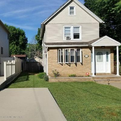 Staten Island Single Family Home For Sale: 244 Barnard Avenue