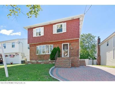 Staten Island Single Family Home For Sale: 362 Katan Avenue