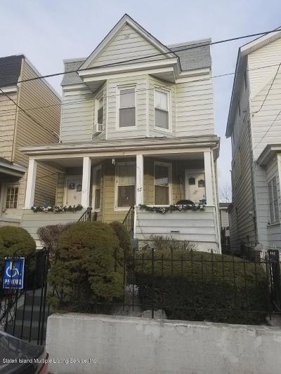 Staten Island Two Family Home For Sale: 67 Treadwell Street