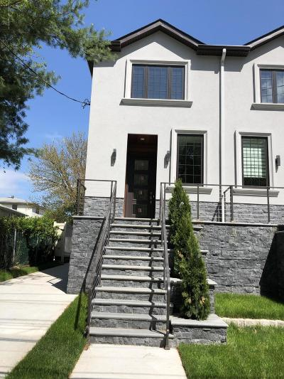 Staten Island Semi-Attached For Sale: 939 Forest Hill Road