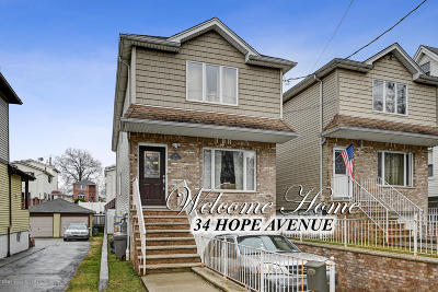 Staten Island Single Family Home For Sale: 34 Hope Avenue