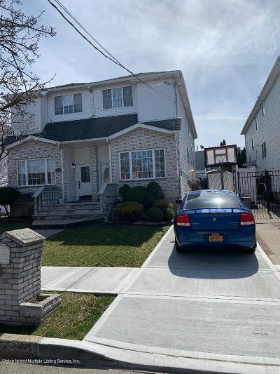 Staten Island Semi-Attached For Sale: 58 Grafe Street