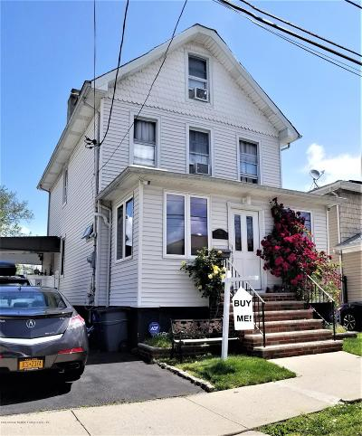 Staten Island Single Family Home For Sale: 301 Dongan Hills Avenue