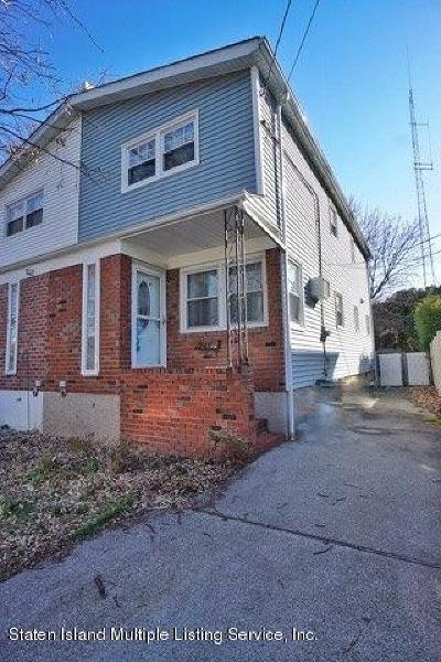 Staten Island Semi-Attached For Sale: 43 Raymond Avenue