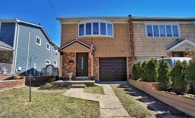 Staten Island Semi-Attached For Sale: 210 Woodrow Road