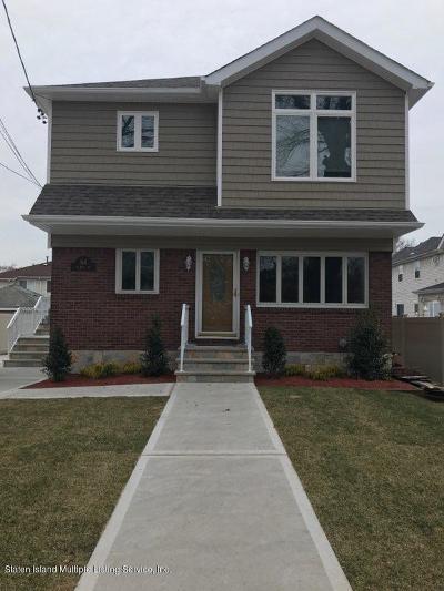 Staten Island Rental For Rent: 64 Mildred Avenue