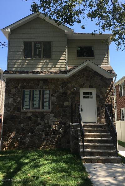 Staten Island Two Family Home For Sale: 69 Bache St
