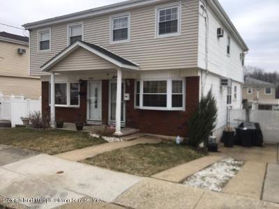 Staten Island Semi-Attached For Sale: 16 Ogorman Avenue