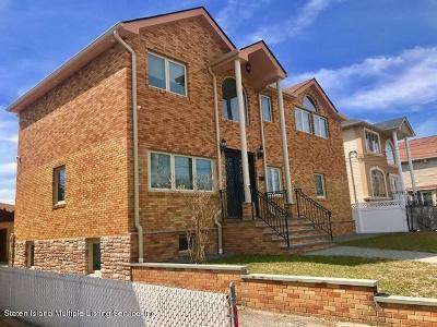 Staten Island Single Family Home For Sale: 78 William Avenue