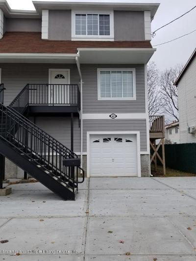 Staten Island Semi-Attached For Sale: 165 Cedar Grove Avenue