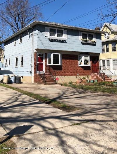 Staten Island Semi-Attached For Sale: 86 Bement Avenue