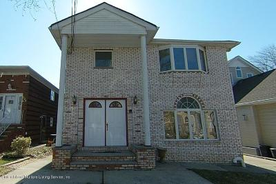 Staten Island Two Family Home For Sale: 208 Sinclair Avenue
