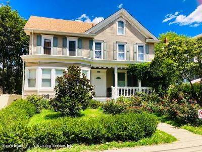 Staten Island Two Family Home For Sale: 115 Main Street