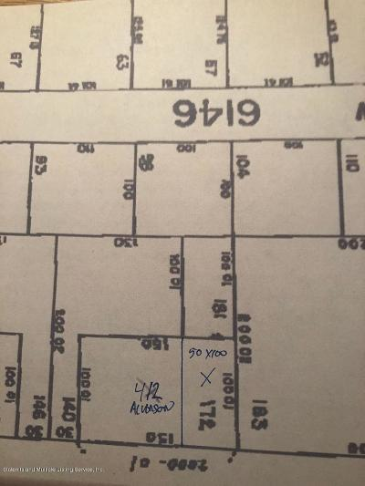 Staten Island Residential Lots & Land For Sale: 412 Alverson Avenue