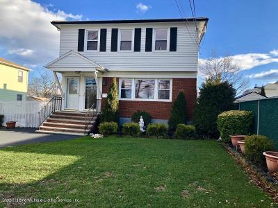 Staten Island Two Family Home For Sale: 3240 Amboy Road