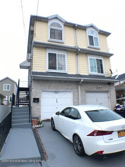 Staten Island Semi-Attached For Sale: 303 Hunter Avenue