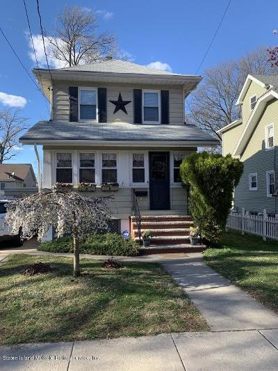 Staten Island Single Family Home For Sale: 67 Utter Avenue