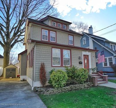 Staten Island Single Family Home For Sale: 302 Rose Avenue