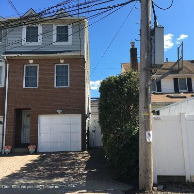 Staten Island Single Family Home For Sale: 28 Cannon Avenue