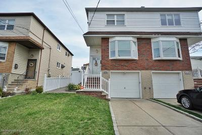 Staten Island Semi-Attached For Sale: 307 Gower Street