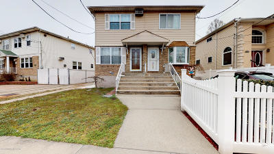 Staten Island Semi-Attached For Sale: 323 Quintard Street