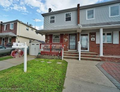 Staten Island Semi-Attached For Sale: 126 East Brandis Avenue