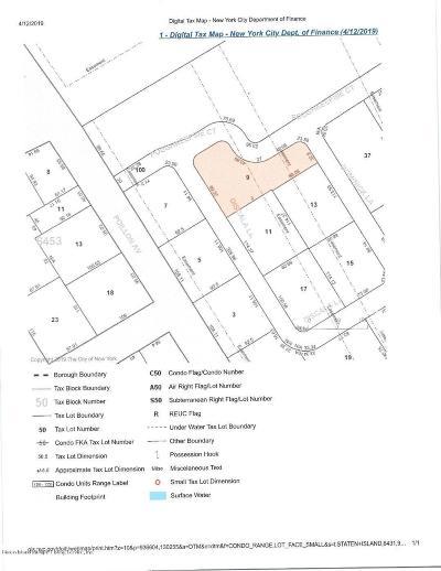 Staten Island Residential Lots & Land For Sale: 25 Discala Lane