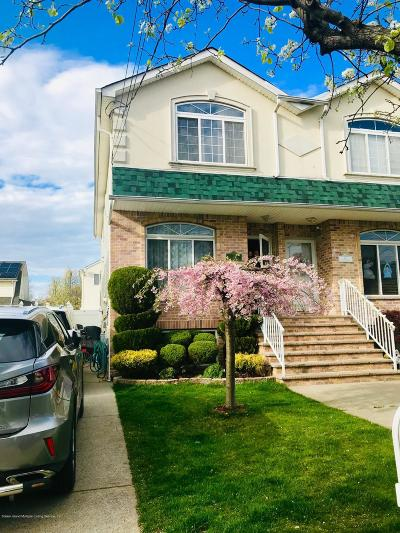 Staten Island Semi-Attached For Sale: 23 Pitney Avenue