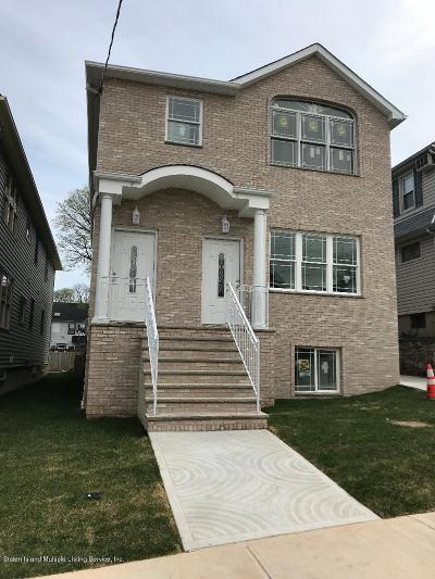 Staten Island Two Family Home For Sale: 409 Davis Avenue