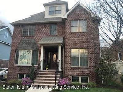 Staten Island Single Family Home For Sale: 143 Lawrence Avenue