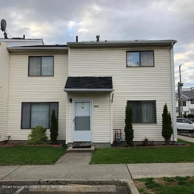 Staten Island Single Family Home Acceptance: 417 Weser Avenue #A