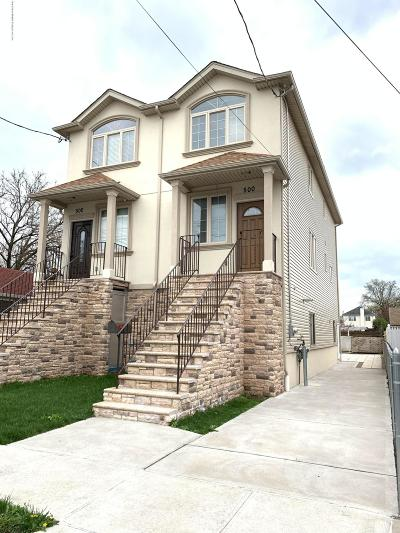Staten Island Semi-Attached For Sale: 500 Lincoln Avenue